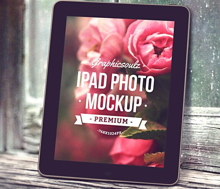 iPad Photo Mockup – Vol.2