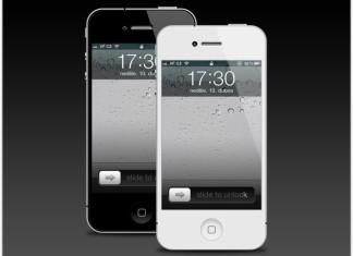 iPhone 4 Mockup
