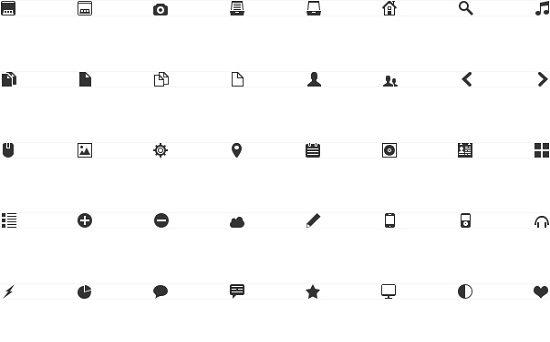mimi-glyphs