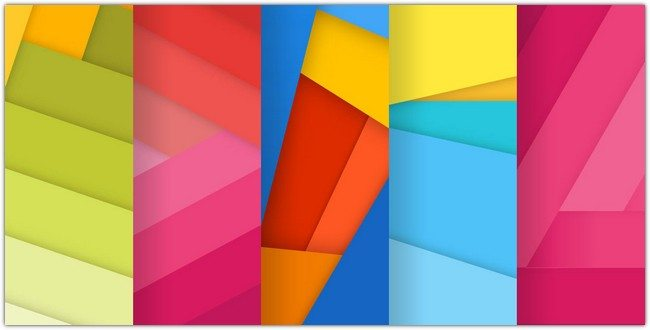 set of material design backgrounds