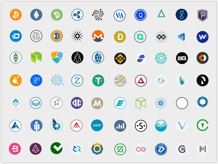CryptocurrencyIcons