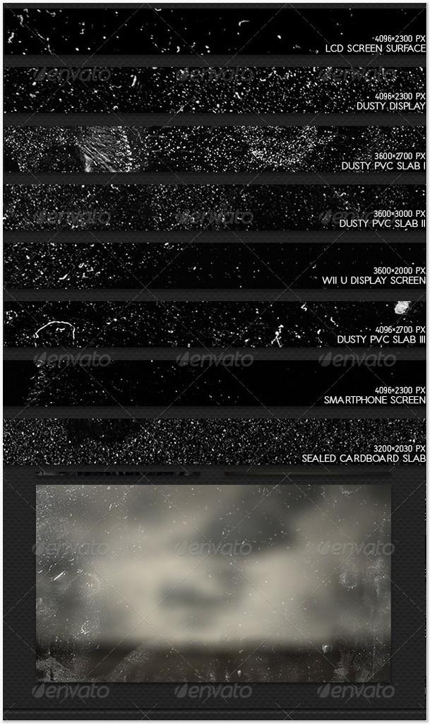 12 Dust Textures