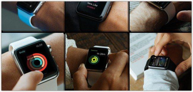 15 Free Apple Watch PSD Mockups