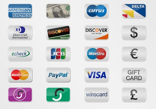 20-Free-Payment-Option-Icons