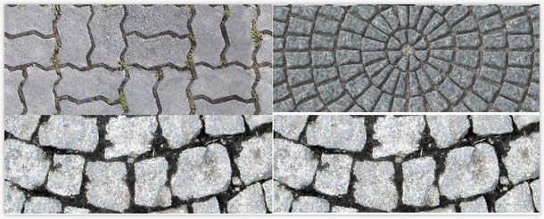 3 Outdoor Tiling Textures