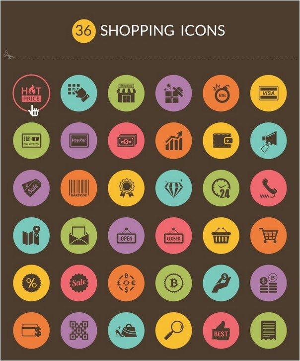 36 Free Shopping icons