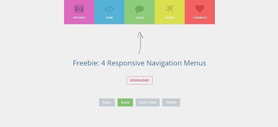 4 Sweet and Responsive Navigation Menus