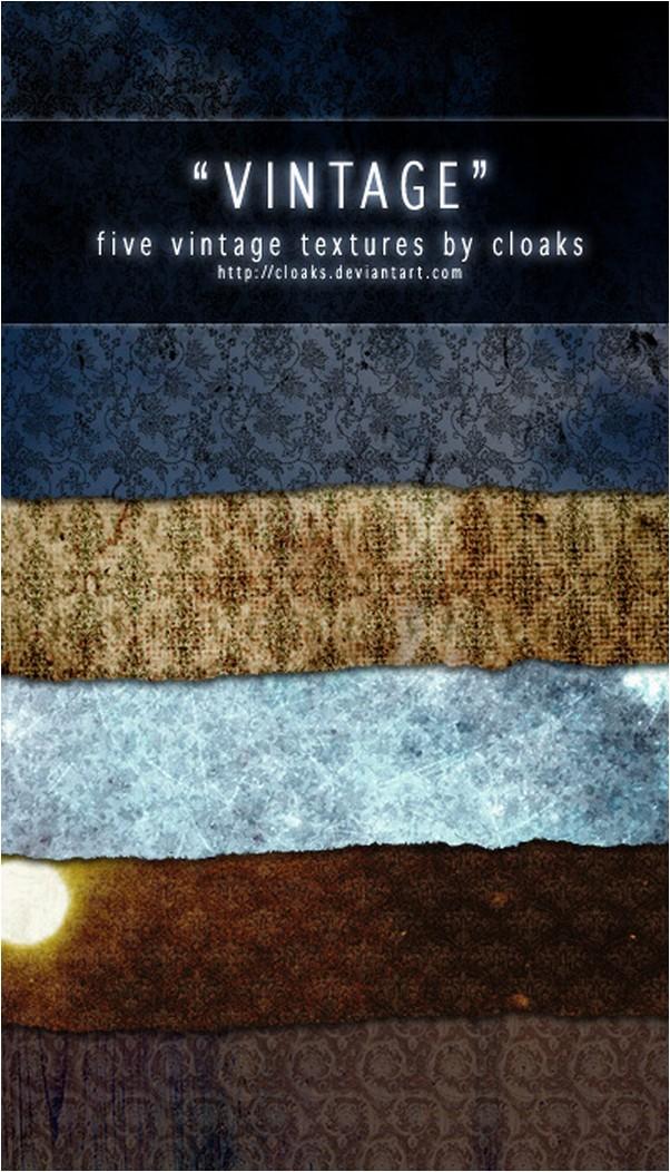 5 Vintage Texture Pack