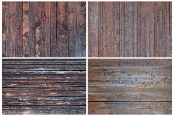 6 Vintage Wood Textures Vol.4