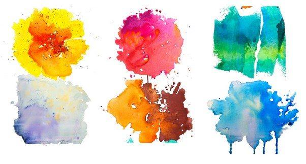 6 Watercolor Textures Vol.1
