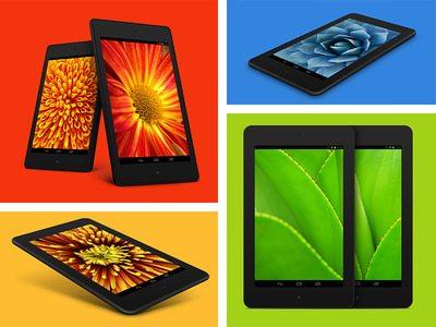 8 FREE Nexus 7 PSD Mockups