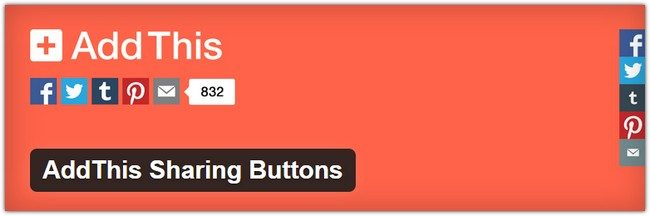 AddThis Sharing Buttons