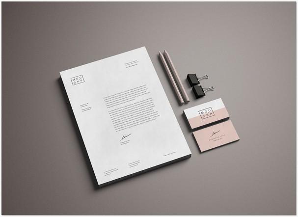 Advanced Branding / Stationery Mockup