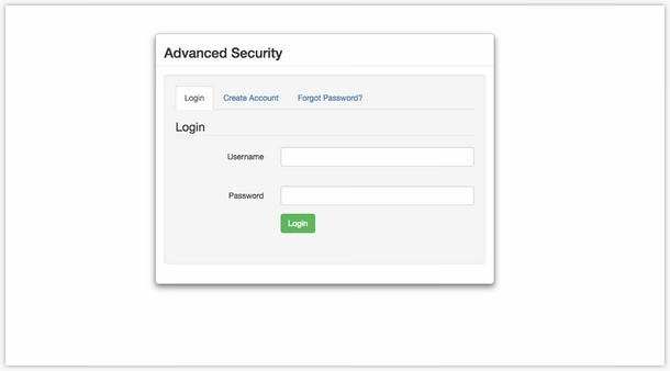Advanced Security - PHP Register-Login System