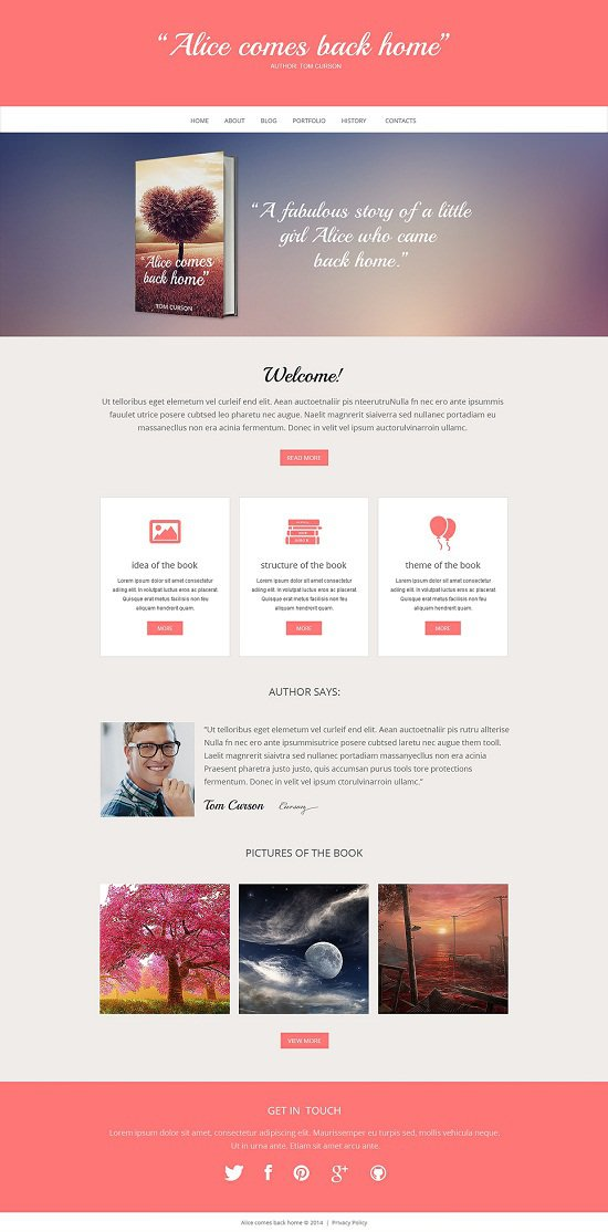 Alic-Book-Reviews-Responsive-Website-Template