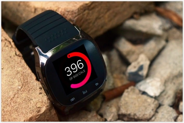 Android Watch Mockup PSD