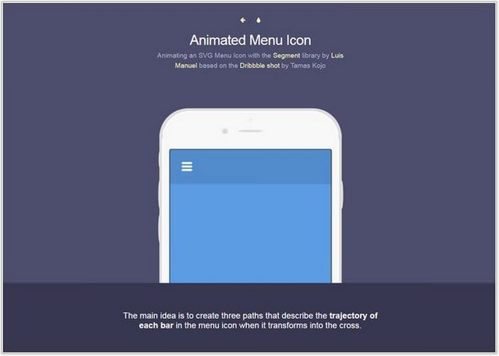 Animated Menu Icon