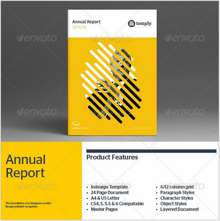 Annual Report Brochure Template