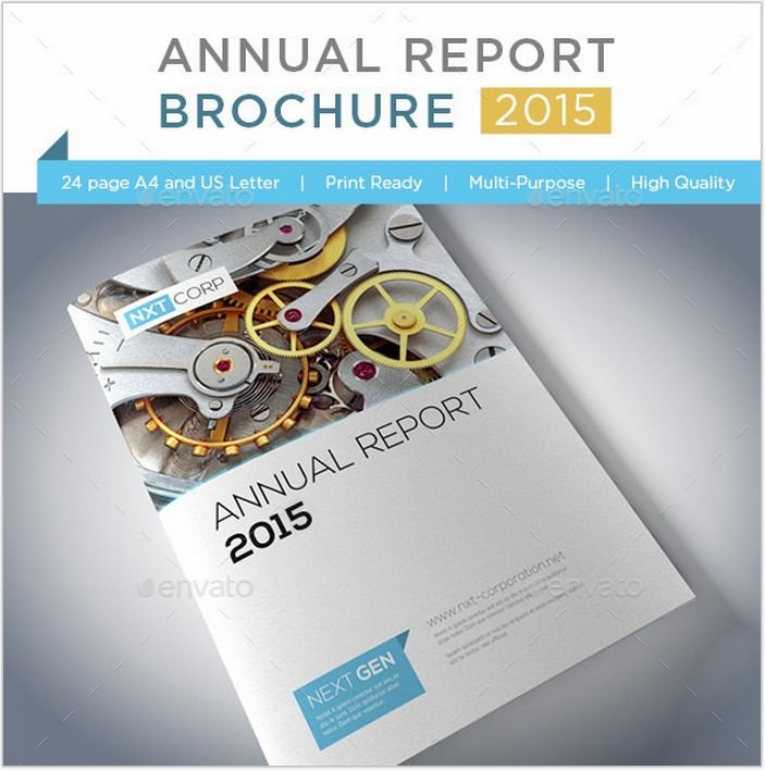 Annual Report Print Brochure