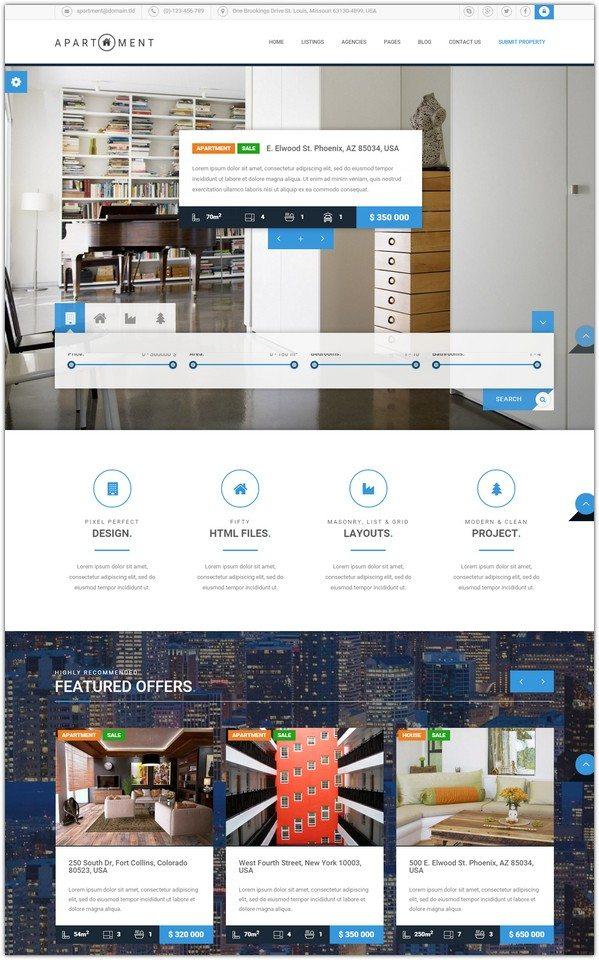 Apartment HTML - Real Estate Multi Single Property