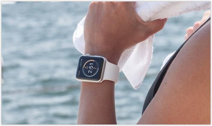 Apple Watch Fitness MockUp