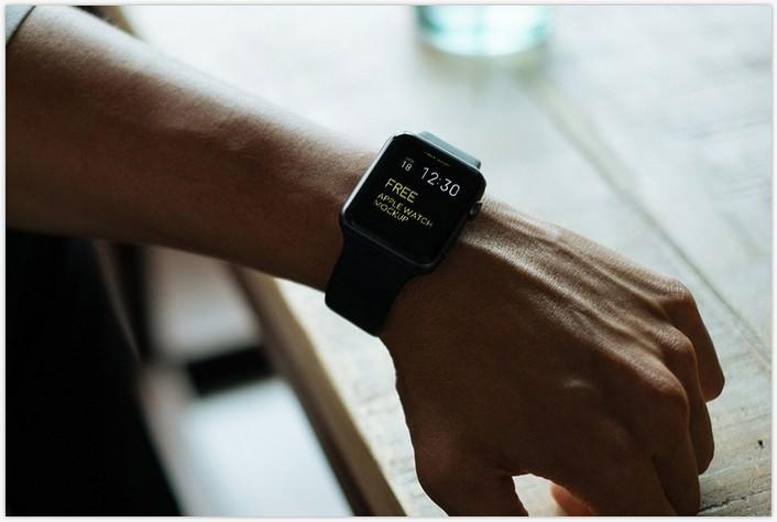 Apple Watch PSD Mockup Bundle
