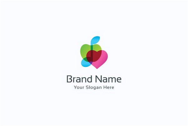 Apple music love logo