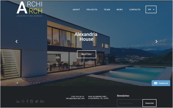 ArchiArch Website Template