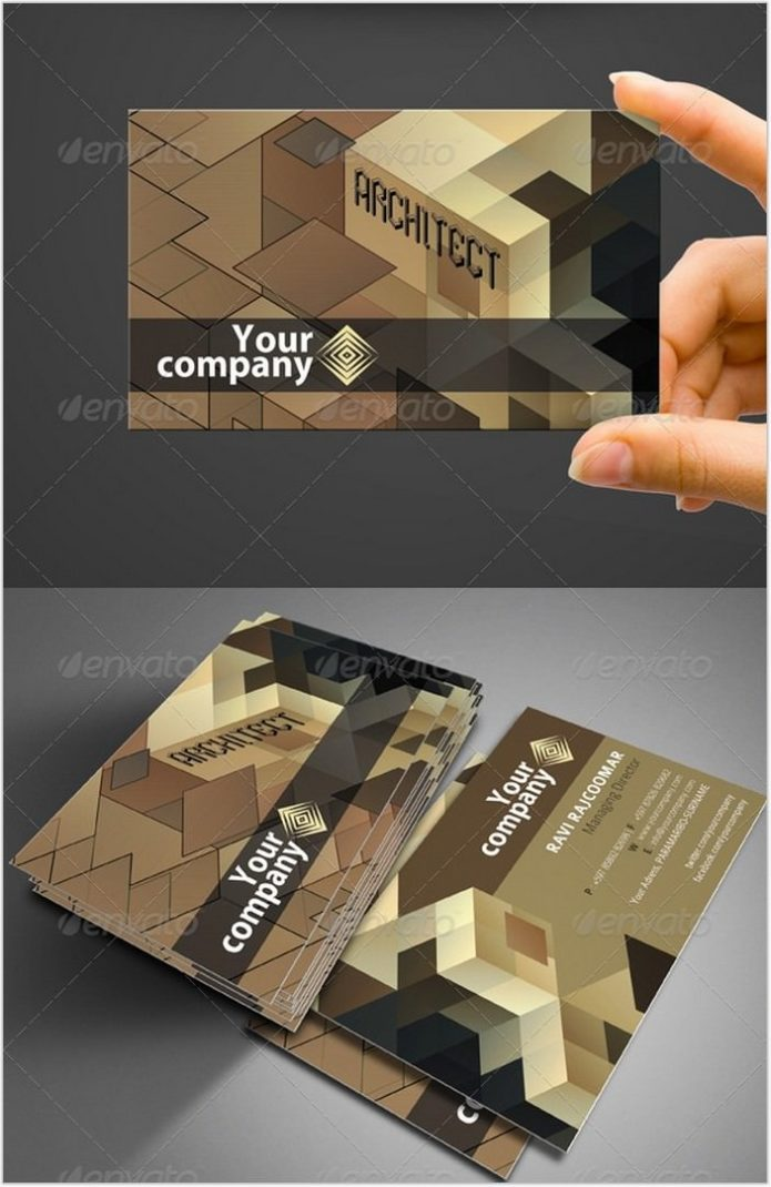 Architect Business Card # 3