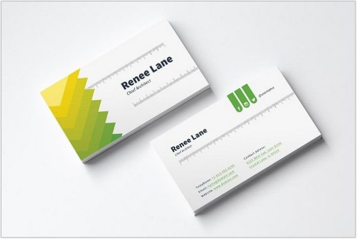 Architect Business Card Template