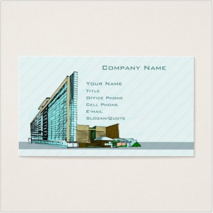 Architecture Business Card # 2
