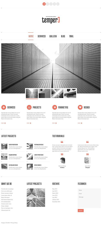 Architecture Designs WordPress Theme