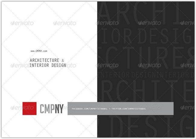 Architecture Interior Design Brochure