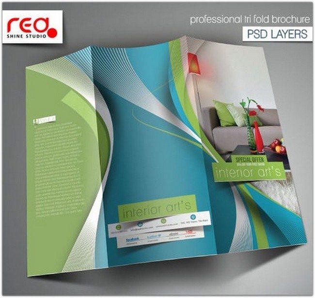 Architecture - Interior Designer Trifold Brochure