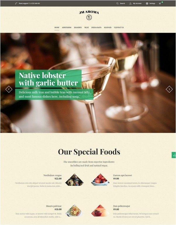 Aroma – Responsive Magento Restaurant Theme