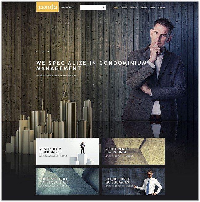 Asset Management Website Template