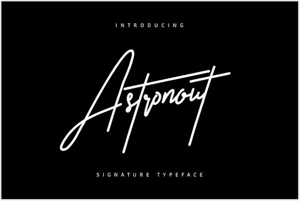 Astronout Signature