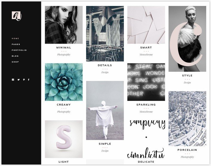 Audrey - A Charming Multipurpose Fashion Theme