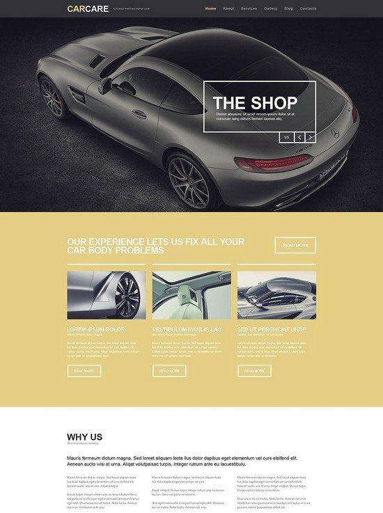 Auto Body Paint Repair Responsive WordPress Theme