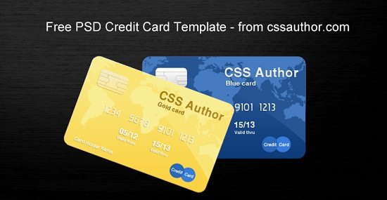 40 Best Credit Card Mockups Psd Templates Free And Premium
