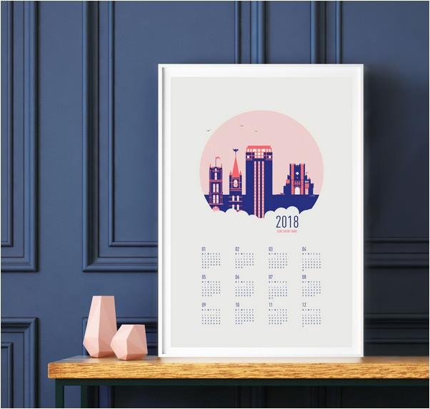 Awesome Kalender 2018