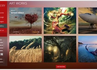 Gallery PHP Template