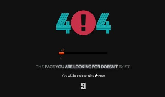 Barija - Interactive 404 Page Template