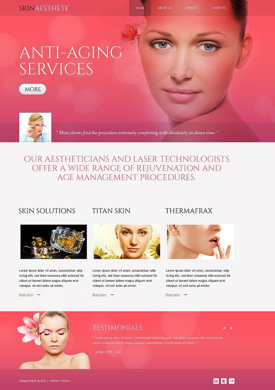 Beauty-Salon-Responsive-Website-Template