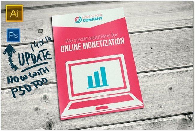 Bi-fold Online Business Brochure