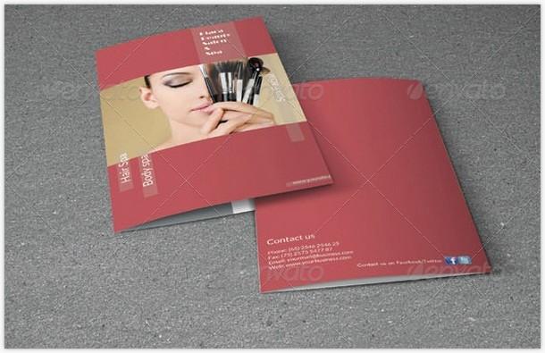 Bifold Brochure- Beauty Salon