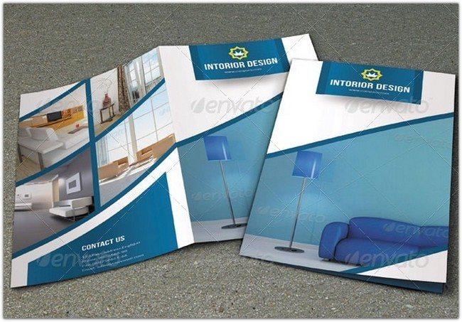 Bifold Interior Brochure Template