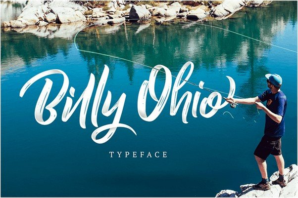 Billy Ohio font