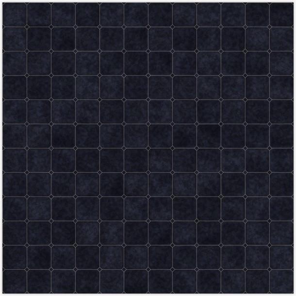 Black Floor Tiles Texture