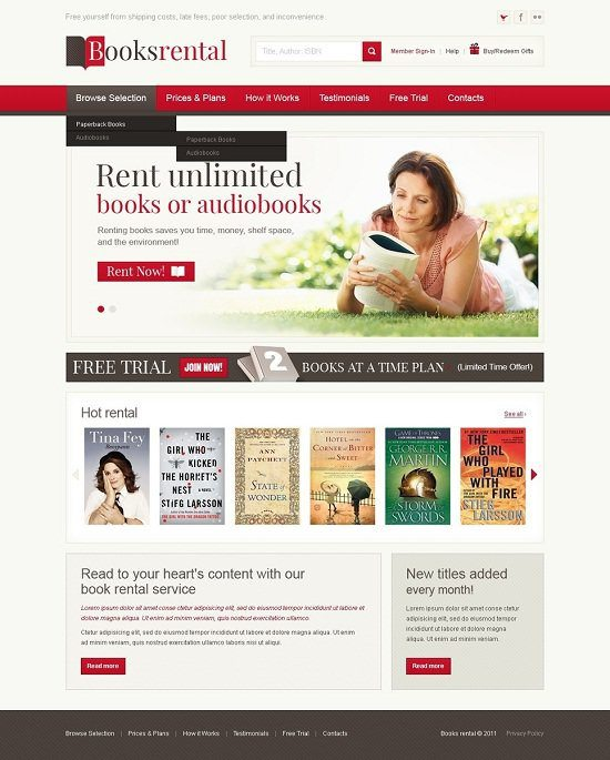 Books-Rental-Store-Website-Template